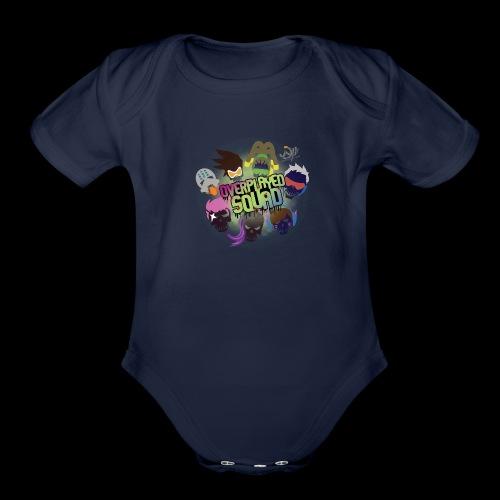 Overplayed Squad - Organic Short Sleeve Baby Bodysuit