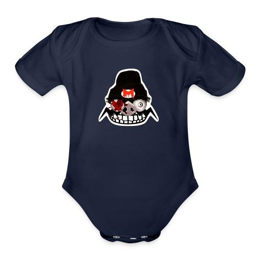 MRMEME_HALLOWEEN - Organic Short Sleeve Baby Bodysuit