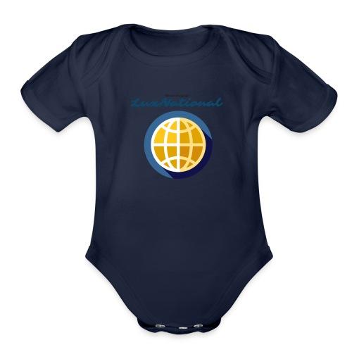 Lux National Merchandise - Organic Short Sleeve Baby Bodysuit