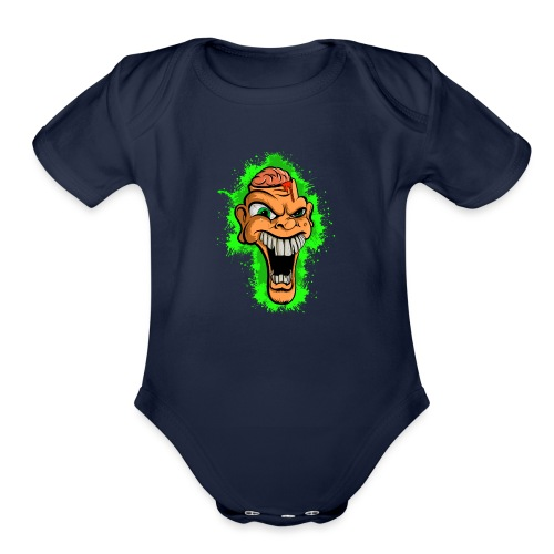 Out of sorts... - Organic Short Sleeve Baby Bodysuit