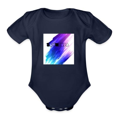 SLYNINJA - Organic Short Sleeve Baby Bodysuit