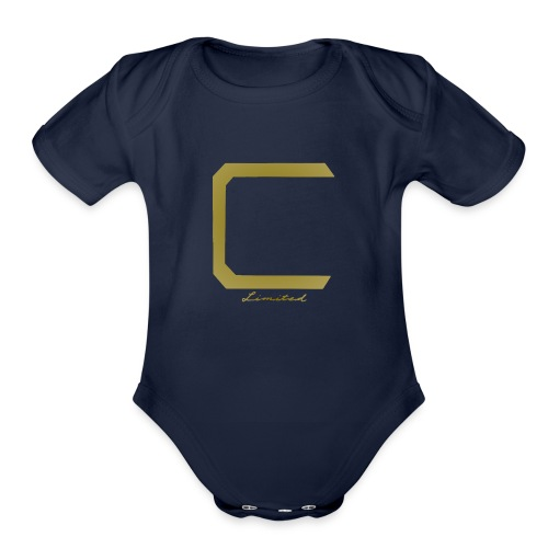 Cyberonic Limited Gold Apparel - Organic Short Sleeve Baby Bodysuit