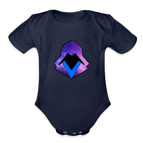 hoodie 2 - Organic Short Sleeve Baby Bodysuit