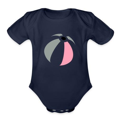 beachBall - Organic Short Sleeve Baby Bodysuit