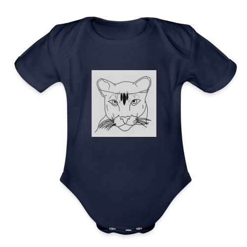 Lioness - Organic Short Sleeve Baby Bodysuit