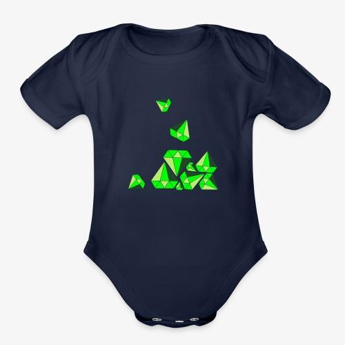 dropagem - Organic Short Sleeve Baby Bodysuit