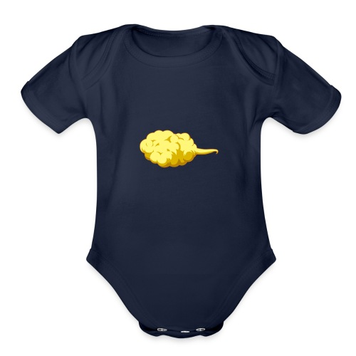 Flying Nimbus - Organic Short Sleeve Baby Bodysuit