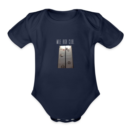 MILE HIGH CLUB - Organic Short Sleeve Baby Bodysuit