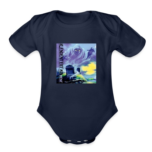 blendentertainment - Organic Short Sleeve Baby Bodysuit