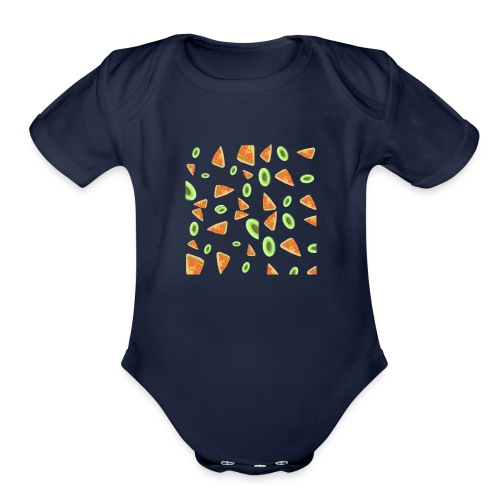 The PizzaCados - Organic Short Sleeve Baby Bodysuit