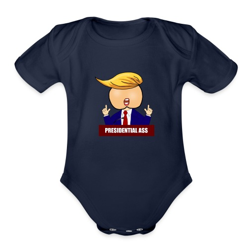 Presidential Ass - Organic Short Sleeve Baby Bodysuit