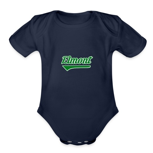 We Are Elmont - 'Community Pride' - Organic Short Sleeve Baby Bodysuit