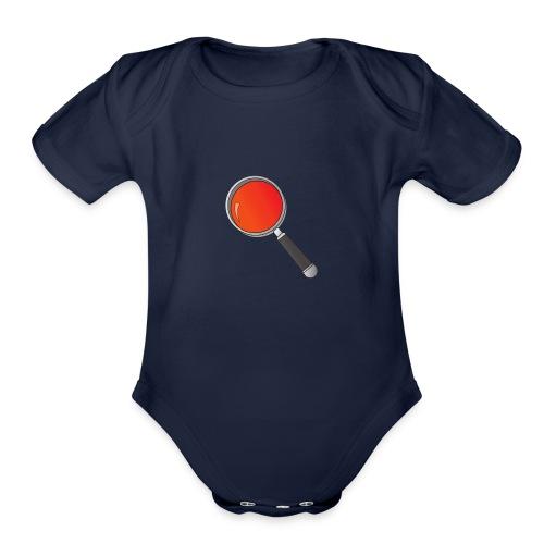 RedishPlot - Organic Short Sleeve Baby Bodysuit