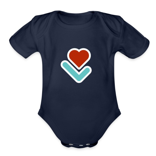 Lawbooth - Organic Short Sleeve Baby Bodysuit