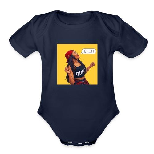 Bruh - Organic Short Sleeve Baby Bodysuit