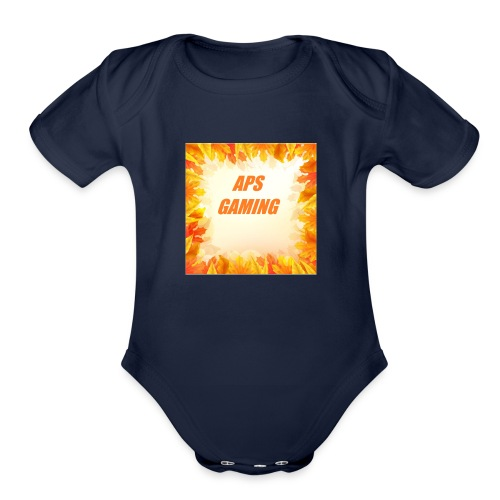 APS_Gaming - Organic Short Sleeve Baby Bodysuit
