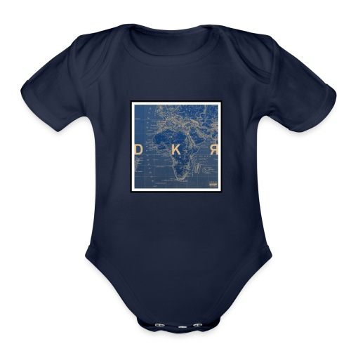 DKR_mod - Organic Short Sleeve Baby Bodysuit
