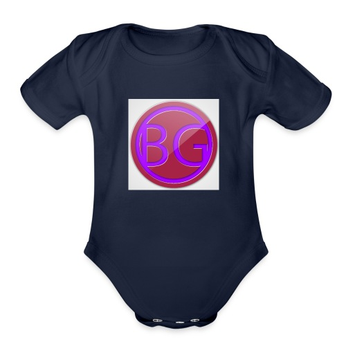 Brother Gaming 2016 logo apparel - Organic Short Sleeve Baby Bodysuit