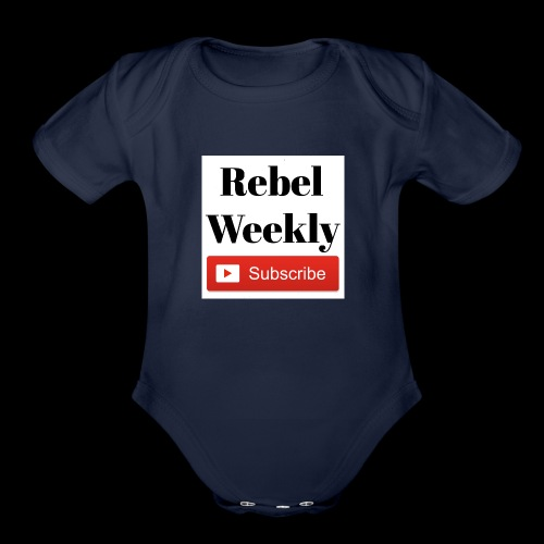Rebel Weekly - Organic Short Sleeve Baby Bodysuit