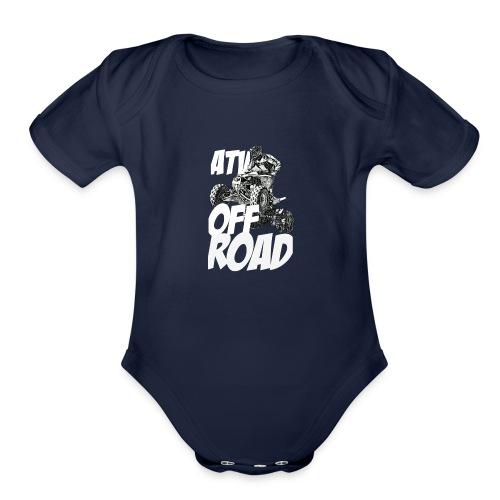 ATV OFF ROAD - Organic Short Sleeve Baby Bodysuit