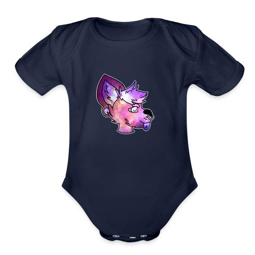 Space Doge - Organic Short Sleeve Baby Bodysuit
