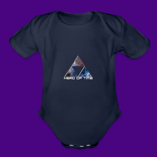 Hero Of Time - Organic Short Sleeve Baby Bodysuit