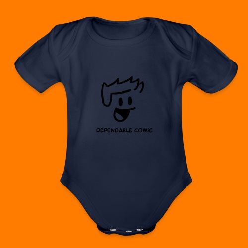 The Dependable guy - Organic Short Sleeve Baby Bodysuit