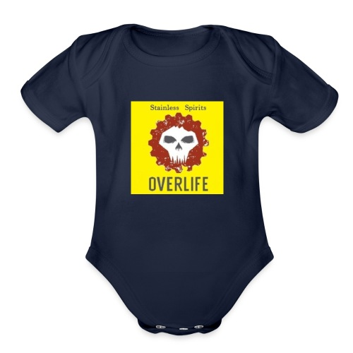 Stainless Spirits-Overlife Cup - Organic Short Sleeve Baby Bodysuit