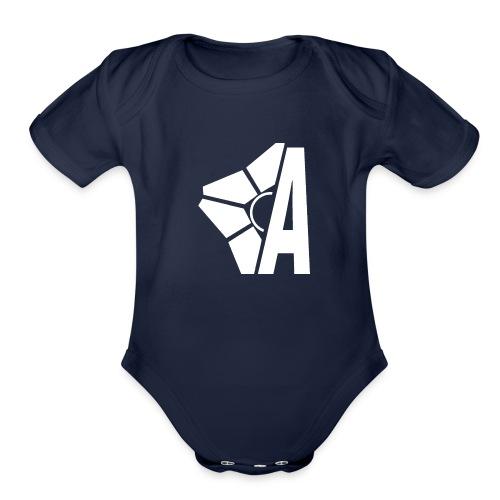 KBTA Logo - Organic Short Sleeve Baby Bodysuit