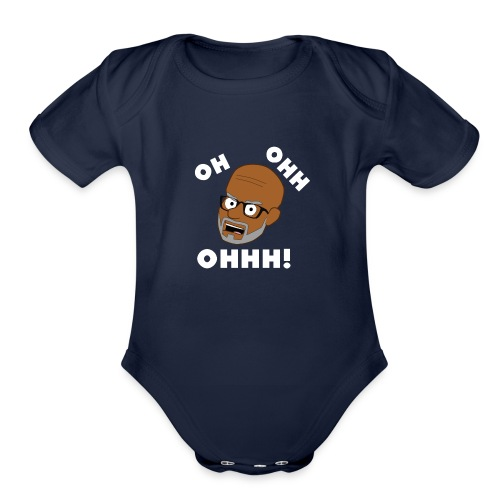 OH OHH OHHH! - Organic Short Sleeve Baby Bodysuit