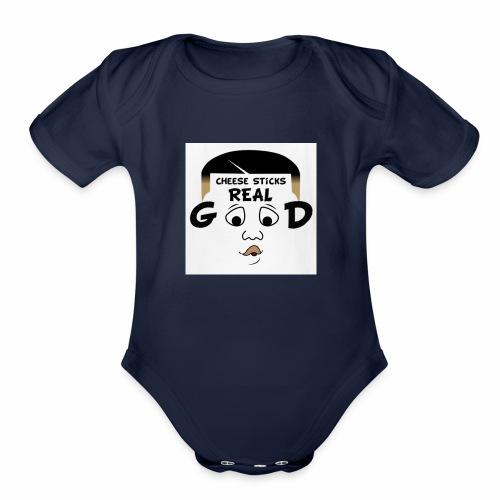 Ronboitv - Organic Short Sleeve Baby Bodysuit