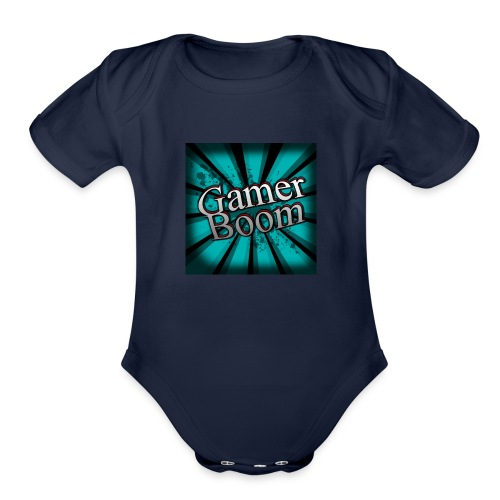 Lo Mejor de GamerBoom - Organic Short Sleeve Baby Bodysuit