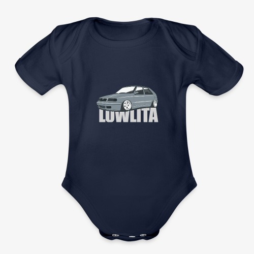 felicia lowlita - Organic Short Sleeve Baby Bodysuit