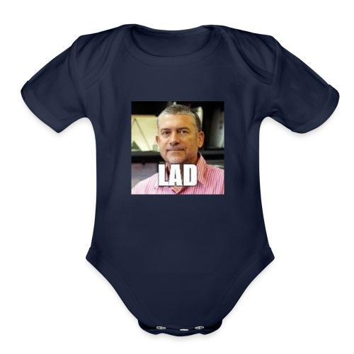 CHCCS meme design 2 - Organic Short Sleeve Baby Bodysuit