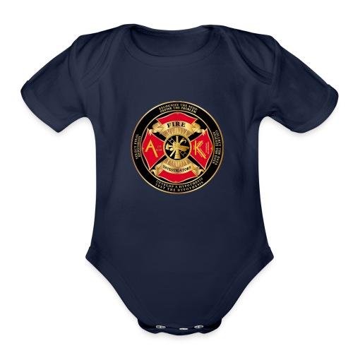 Alaska Association of Fire and arson investigators - Organic Short Sleeve Baby Bodysuit