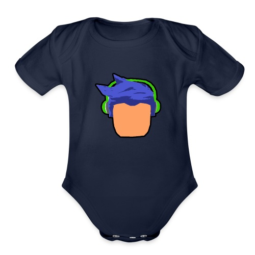 HD Best Quality - Organic Short Sleeve Baby Bodysuit