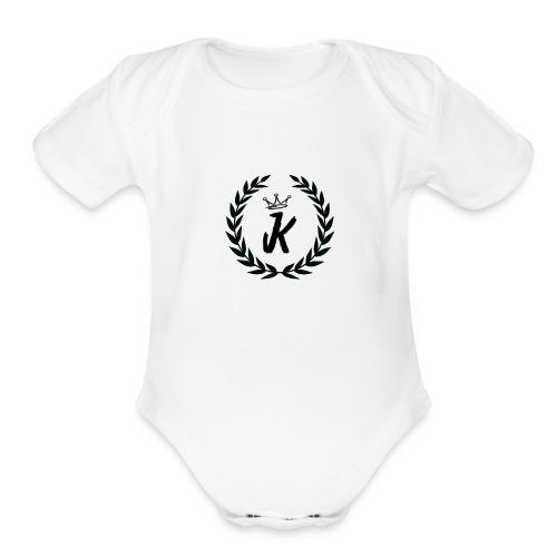 KVNGZ APPAREL - Organic Short Sleeve Baby Bodysuit