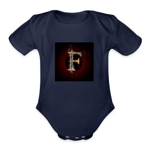 fofire gaming/entertainment - Organic Short Sleeve Baby Bodysuit