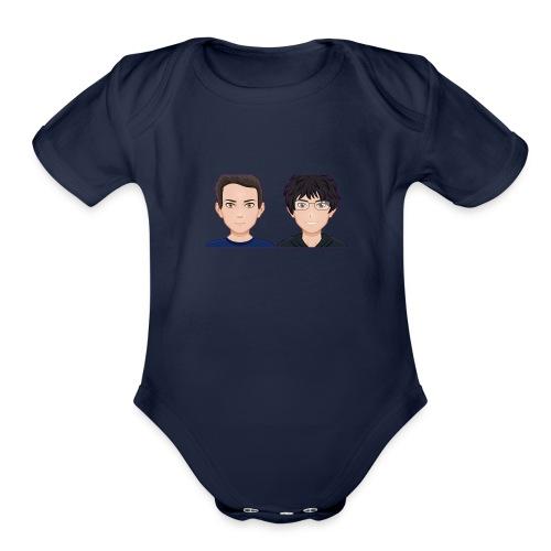 Sun-Both - Organic Short Sleeve Baby Bodysuit