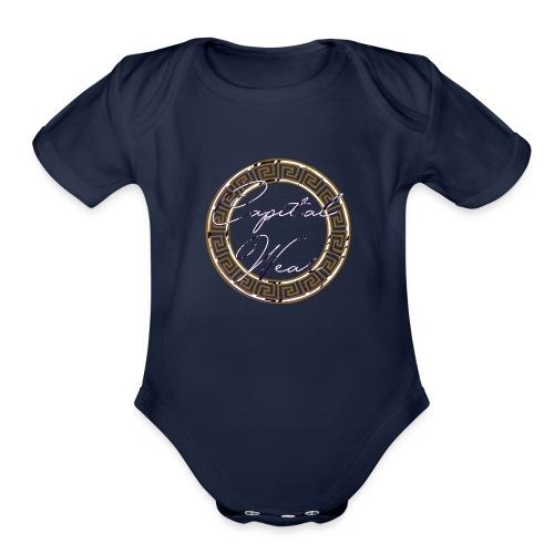 CWsace - Organic Short Sleeve Baby Bodysuit