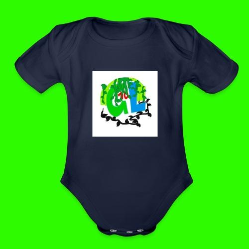 Greenleaf10 logo - Organic Short Sleeve Baby Bodysuit