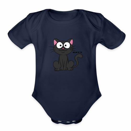 KAT.T - Organic Short Sleeve Baby Bodysuit
