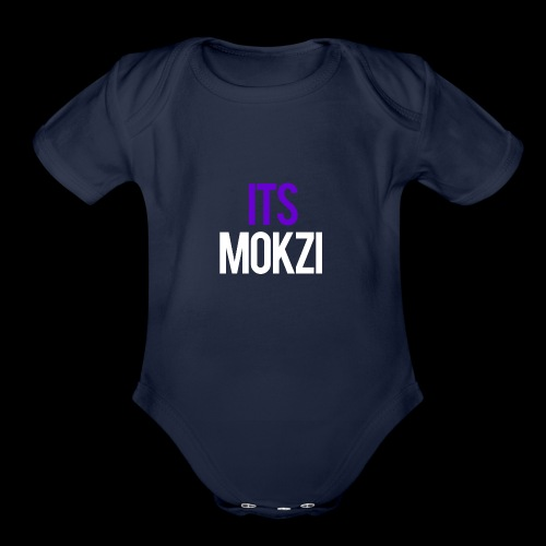 Mokzi shirts and hoodies - Organic Short Sleeve Baby Bodysuit