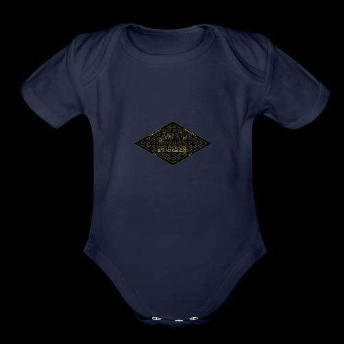 Limited Edition FWM Founder Badge - Organic Short Sleeve Baby Bodysuit