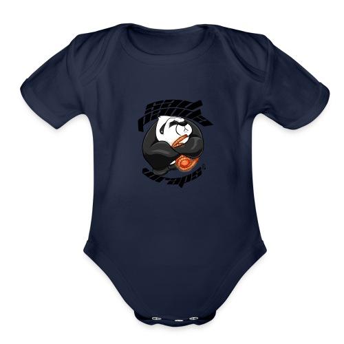 Sad panda Designs - Organic Short Sleeve Baby Bodysuit