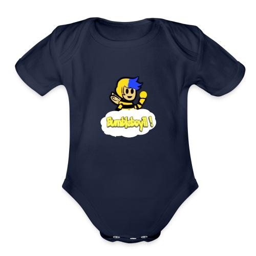 Channel logo - Organic Short Sleeve Baby Bodysuit