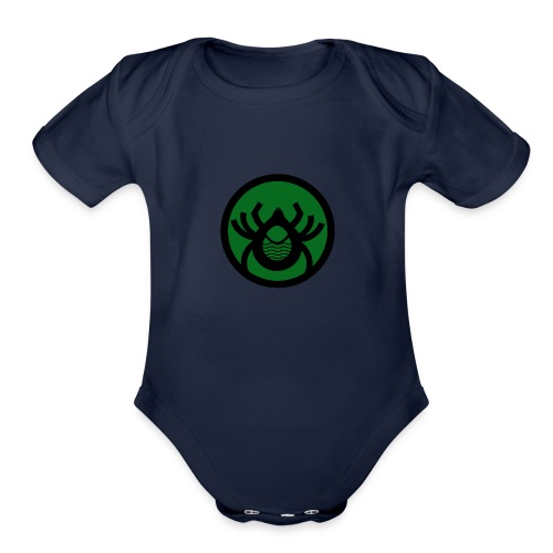Woodtick - Organic Short Sleeve Baby Bodysuit