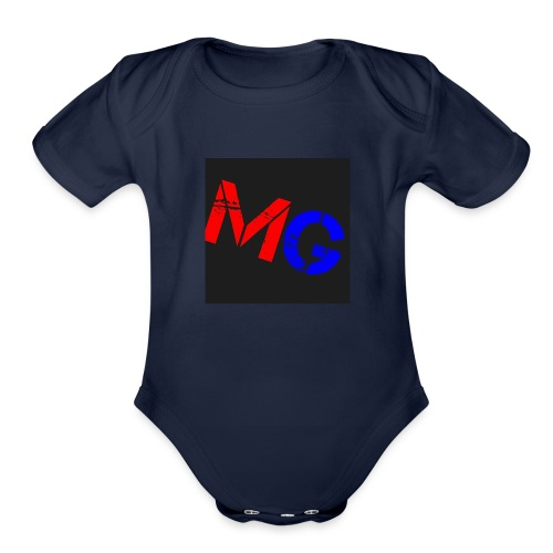 Mobile Gamer - Organic Short Sleeve Baby Bodysuit