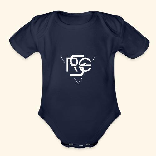 RGS Logo - Organic Short Sleeve Baby Bodysuit