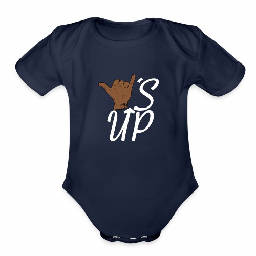Wise Up T-Shirt - Organic Short Sleeve Baby Bodysuit